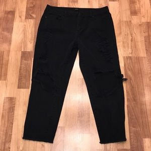 Torn Look Forever 21 Jeans